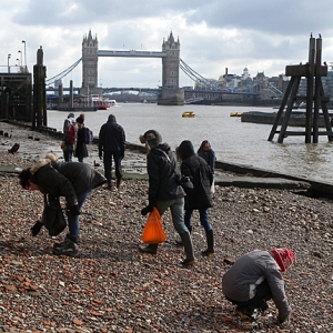 The Thames Discovery Programme at Custom House (c)Thames Discovery Programme