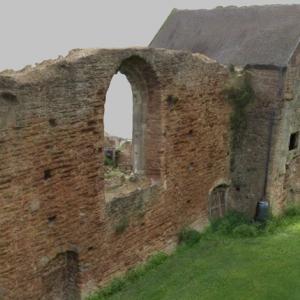 3D model of Beauvale Priory, Nottinghamshire, UK