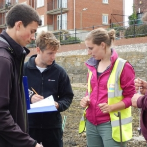 Archaeological recording coastal and intertidal archaeology training remains