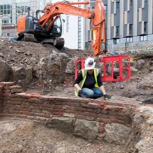 Boar's Head site excavation
