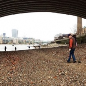 Bankside Evening Family Walk Thames Discovery Programme London history archaeology