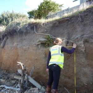 CITiZAN recording coastal archaeology multi-period archaeological site