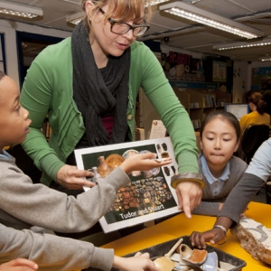Community archaeology engagement in schools (c)MOLA
