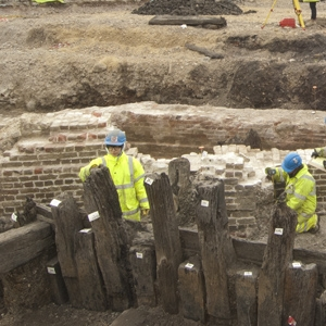 Archaeological investigation at Deptford Royal Dockyard