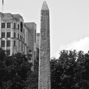 Cleopatra's Needle at Embankement in London