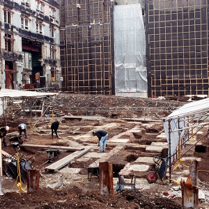 MOLA excavations at 71 Fenchurch St