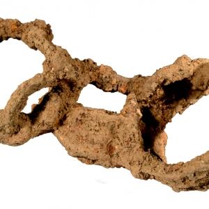 Great Casterton Roman burial shackles (c) MOLA.jpg