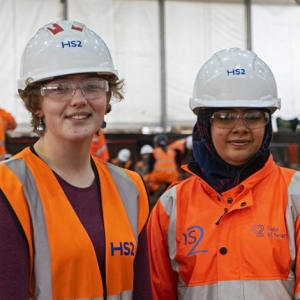Archaeology trainees at Park Street (c) HS2, courtesy of MOLA Headland Infrastructure