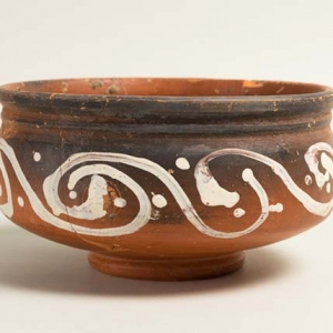 Roman pot from archaeological excavations at Shernhall Street