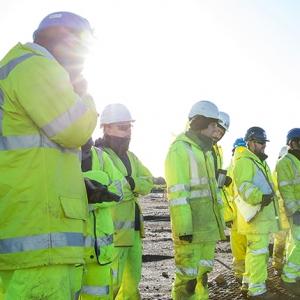 MOLA Headland archaeologists on site on the A14 Cambridge to Huntingdon improvement scheme (c) Highways England.jpg