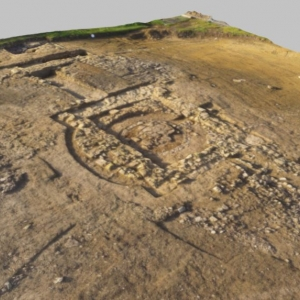 3d model of Raunds Northamptonshire (c) MOLA