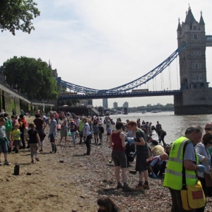 Thames Discovery Programme at the Tower of London
