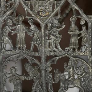 14th cenutry Thomas, Earl of Lancaster devotional panel (c) Museum of London