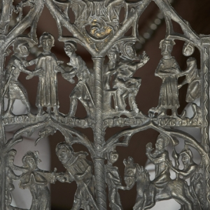 14th cenutry Thomas, Earl of Lancaster devotional panel (c) Museum of London