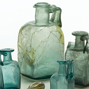 Glass from Basinghall Street