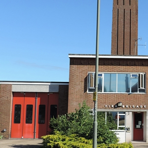 Fire station in Great London assessed and recorded by MOLA