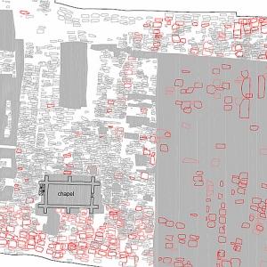 Cemetary plan, St Mary Spital