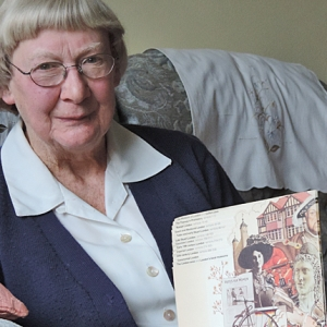 Margaret, interviewee for the Temple of Mithras oral history project