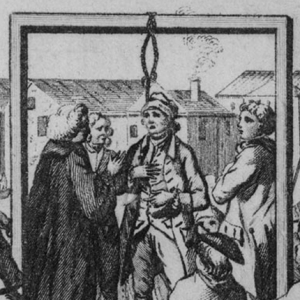 'A Pirate hanged at Execution Dock' (c) National Maritime Museum