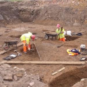 Archaeological excavation (c) MOLA
