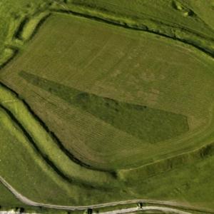 3D model of Uffington Castle Iron Age Hillfort