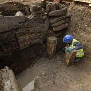 Excavations at Three Quays