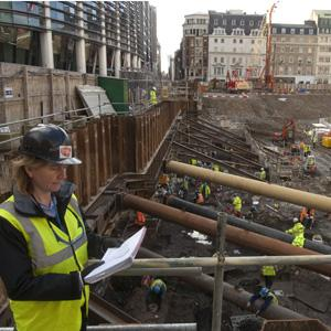 Archaeological excavation at 8-10 Moorgate in the City of London