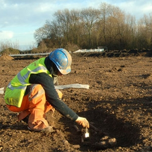 Archaeological investigation at Kingsnorth, Isle of Grain, Kent