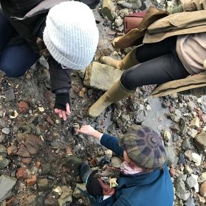 Cannon Street Foreshore Finds with MOLA and TDP