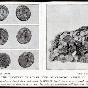 Museum of Croydon coin discoveries (c) Museum of Croydon