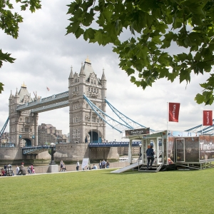 The Time Truck at Potters Fields Park for London Rivers Week 2017 (c) MOLA
