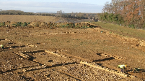 Ketton Quarry, Rutland, archaeological work