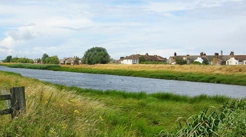 Queenborough Lines, 1860s defensive feature in Kent