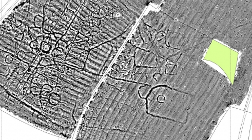 Geophysical survey at Broadwell, Warwickshire