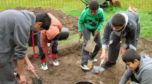 Archaeology day at Gunnersbury Park