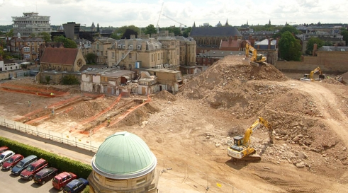 Archaeological evaluation at Oxford Radcliffe Infirmary