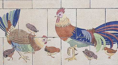 WHSmith Art Deco tiles