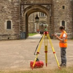 Geomatician working at Knole House